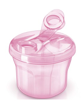 Dosador de Leite em pó rosa