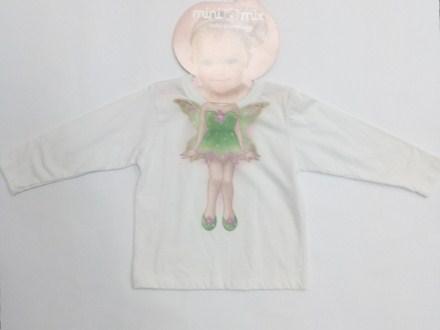 Camiseta Manga Longa Malha Fada