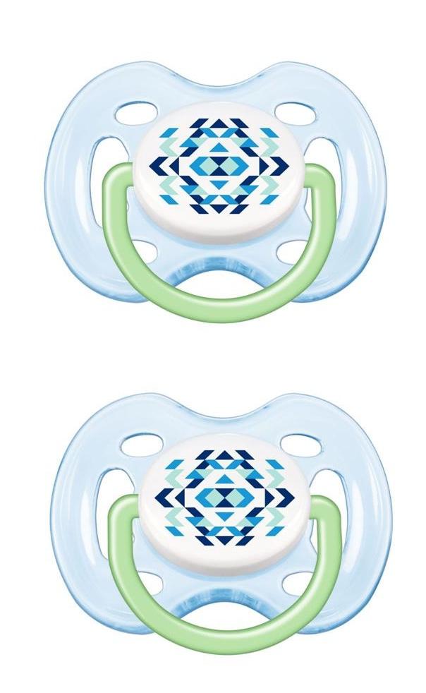 Chupeta BPA FREE 0 a 6m Azul