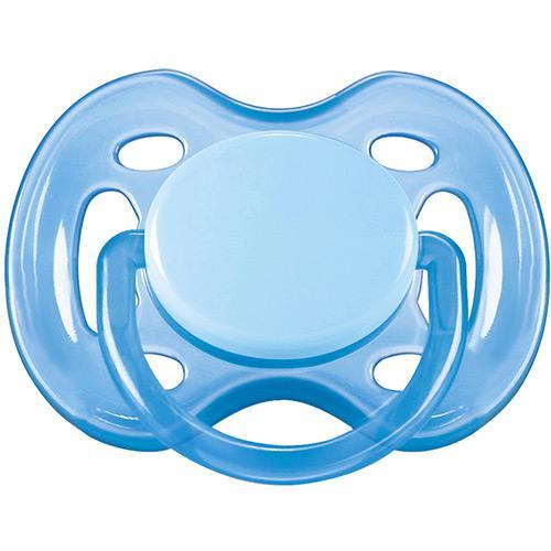 Chupeta BPA FREE 0 a 6m Azul Bebê
