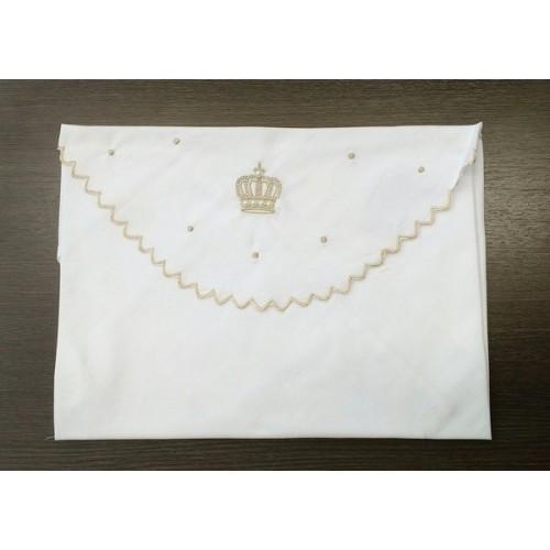 Vira Manta Especial Marfim Coroa