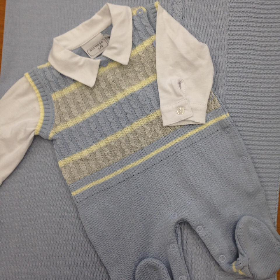 Macacão com manta, camisa