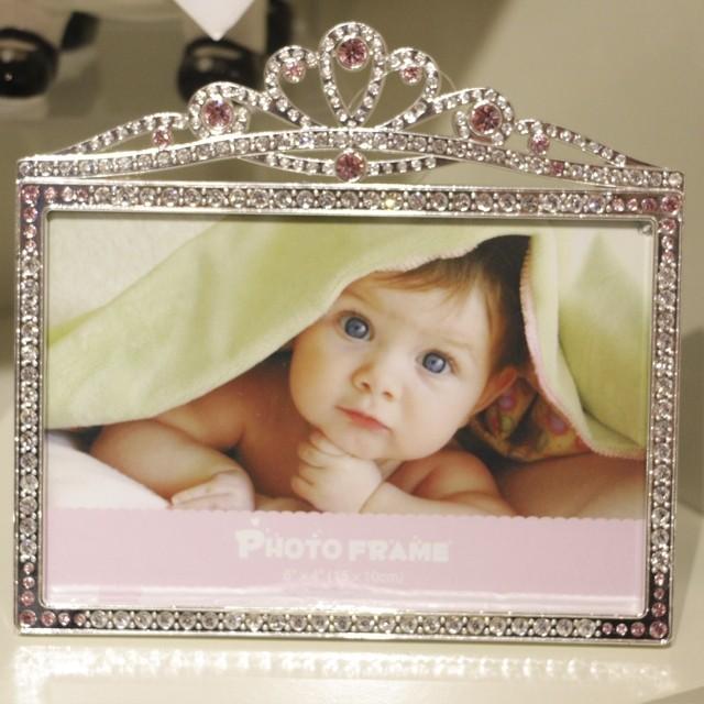 Porta Retrato princesa Strass