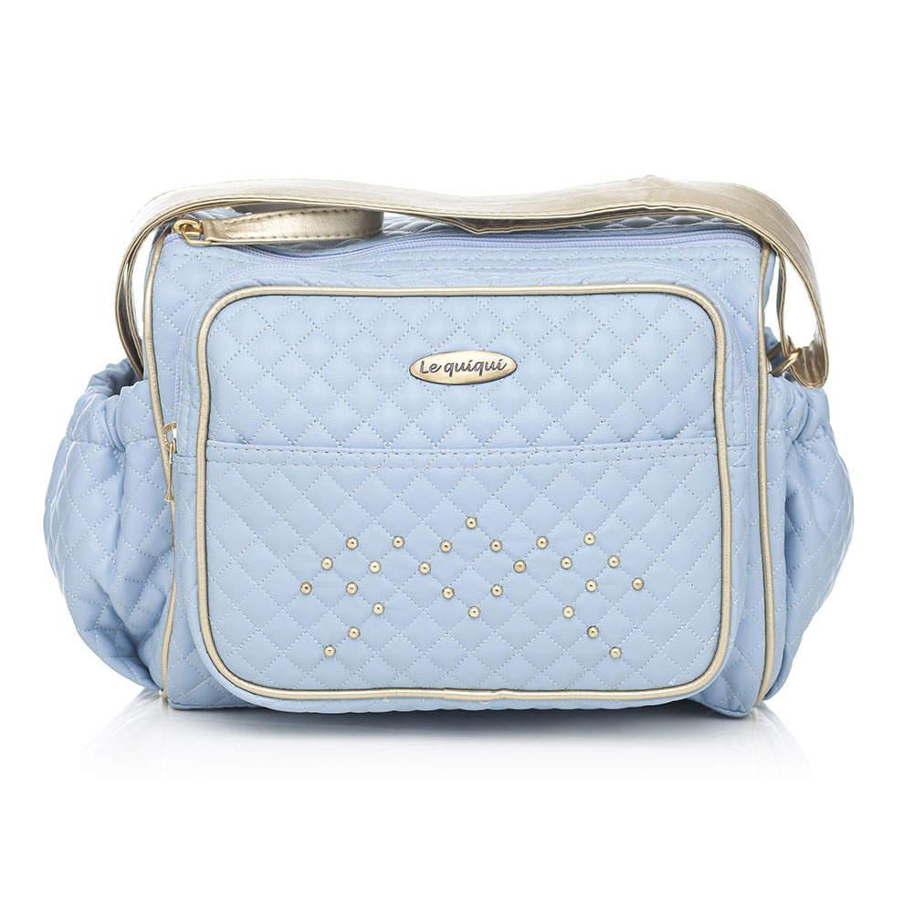 bolsa fraqueira maternidade siena azul LQQ