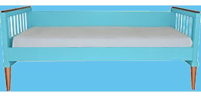 Cama âmbar 710 azul turquesa