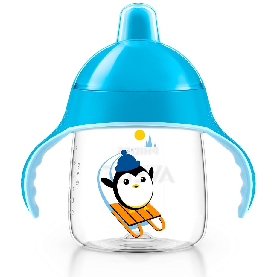 Copo Pinguim 260ml Azul